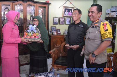 Kapolres Purworejo berkunjung ke Kombes Pol. (Purn.) Bambang Sukamto